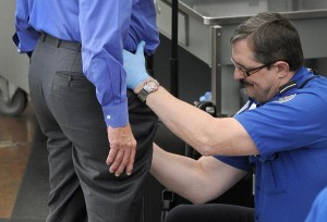 Free government handjob courtesy of TSA