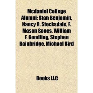 Mcdaniel college alumni