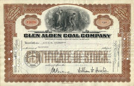 Glen Alden stock