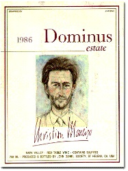 1986 dominus estate wine