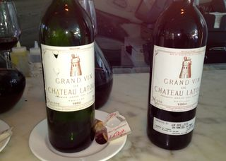 Oliverio Bordeaux wine tasting - 3