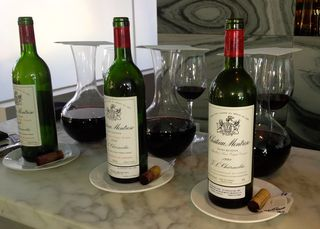 Oliverio Bordeaux wine tasting - 1
