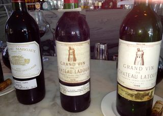 Oliverio Bordeaux wine tasting - 4