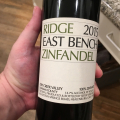 Ridge East Bench Zin 2015