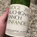 2011 Ridge Zinfandel Buchignani Ranch
